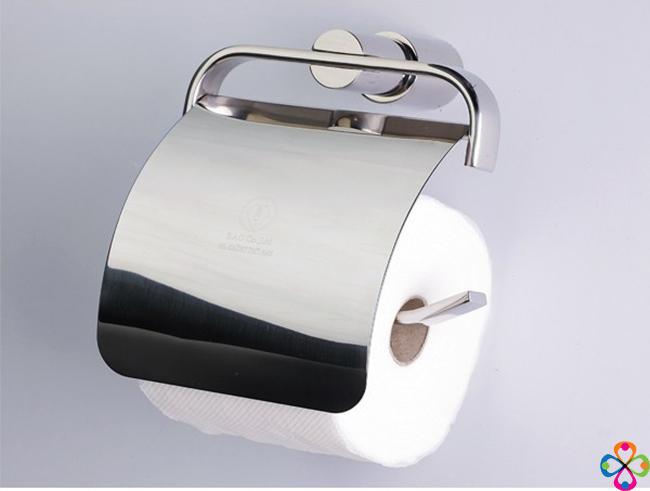 Giá treo giấy vệ sinh inox - Mẫu 03