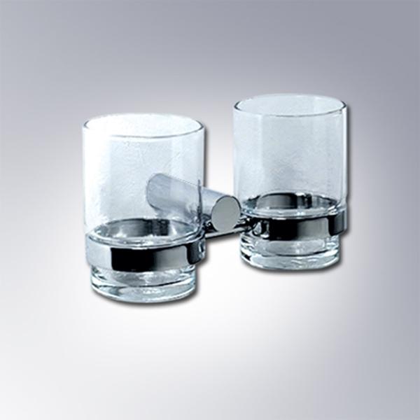 Giá để ly inox đôi  - Mẫu 04